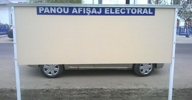 Anunt afisaj electoral