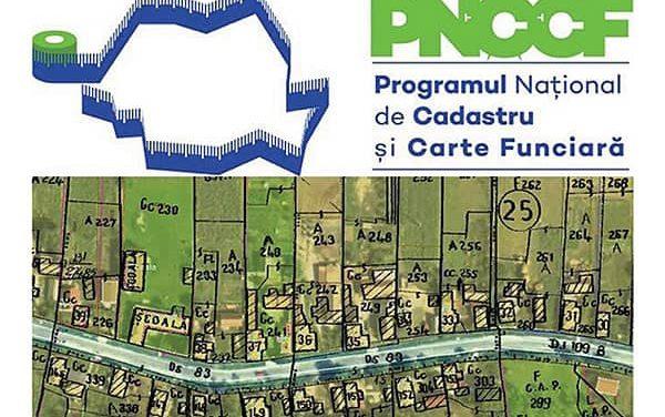 ANUNȚ IMPORTANT – PROGRAMUL NAȚIONAL DE CADASTRU ȘI CARTE FUNCIARĂ 2015-2023  (PNCCF)