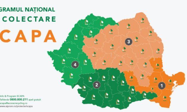 INFORMARE PRIVIND CAMPANIA GRATUITĂ DE COLECTARE A AMBALAJELOR DE PESTICIDE PRIN PROGRAMUL SCAPA CAMPANIA 2021