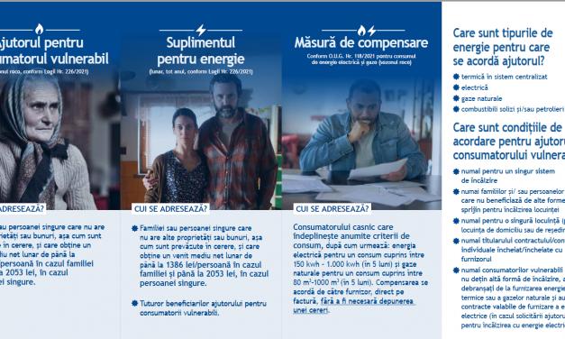 Din 20 octombrie se primesc cereri pentru acordarea suplimentului pentru energie și a ajutorului pentru încălzirea locuinței